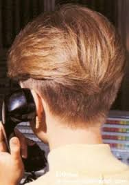 wedge cut for fine hair this is how the back of hair looked senior pics not middle