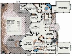 large luxury house plans plan 66070we stunning two story luxury home plan sitting area