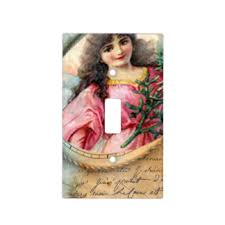 vintage angel light switch covers zazzle