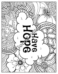 positive affirmations coloring book by lovablelynzi on etsy