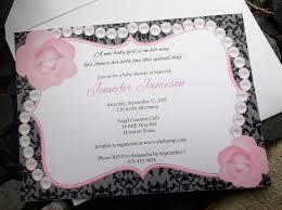 chic invitation baby shower invite wedding shower invite