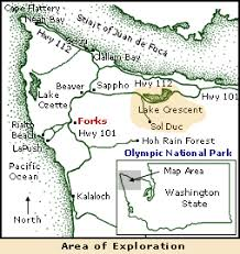 springs washington map day 5 lake crescent waterfalls and springs forks