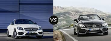 mercedes c class vs s class 2017 mercedes c class coupe vs cabriolet