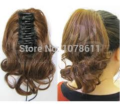 claw hair hairstyles top quality grip chuck horstail straight claw clip ponytail 100