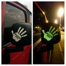 jeep wave sticker mirror bean bags and jeeps