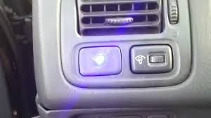 security led lights car fake led car alarm installation youtube