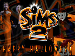 sims 2 happy halloween by garnettrules21 on deviantart
