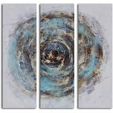 art outlet marble blue chasm piece painting wrapped art outlet marble blue chasm piece painting wrapped canvas set