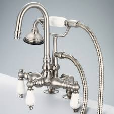 water creation f6 0013 02 cl vintage classic brushed nickel two water creation f6 0013 02 cl