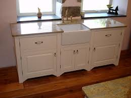 Free Standing Kitchen Cabinet by Free Standing Kitchen Cabinet With Double Bowl Sink Best Sink
