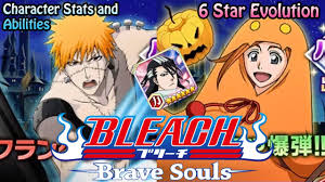 bleach brave souls halloween characters stats and abilities