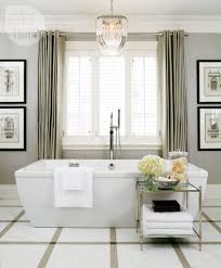 bathroom decor sophisticated glamour style at home