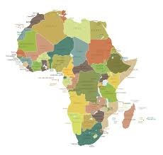 Map Of Africa With Countries Labeled by Map Africa