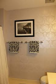 bathroom wall stencil ideas damask wall stencil for painting with luxury pearl white damask