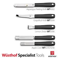 wüsthof kitchen tools asparagus peeling knife grapefruit knife