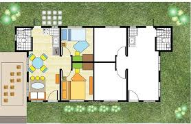 Up Down Duplex Floor Plans House And Lot For Sale In Calamba City 2 Bedroom Bungalow Duplex