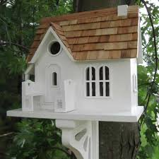 cozy cottage bird house yard envy