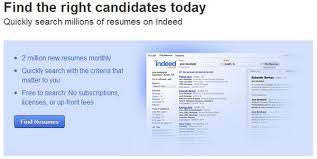 How To Upload A Resume To Indeed Linkedin Vs Monster Com Vs Indeed For Employers Which Job