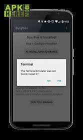 busybox apk busybox install no root for android free at apk here