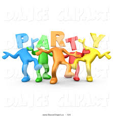 party people clip art clipart panda free clipart images
