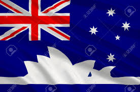 Pictures Of The Australian Flag Flag Of Sydney Is The State Capital Of New South Wales And The