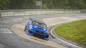 subaru nurburgring nürburgring subaru décroche le record du temps au tour pour une