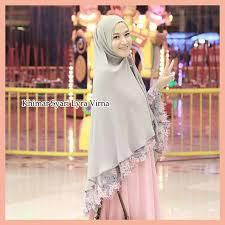 fashion terbaru khimar syari lyra virna trend fashion hijabers terbaru 2015