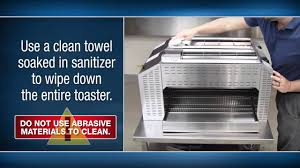 Cleaning Toaster Prince Castle Universal Rapid Toaster Cleaning Tutorial Youtube