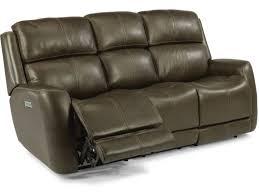 Flexsteel Reclining Sofas Flexsteel Living Room Allen Power Headrest And Lumbar Reclining Sofa