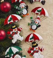 bucilla seasonal felt ornament kits dropping in 86335