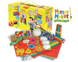 mister maker magic make case kids craft gift set