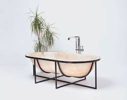 Traditional Bathtub Elegant Woven Wood Bathtub Made With Traditional Vietnamese Boat