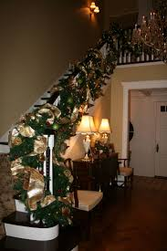 79 best christmas stairs images on pinterest christmas garlands