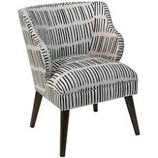 Black And White Armchairs Chairs Hsn