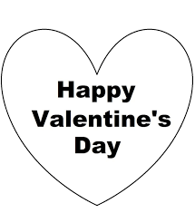 heart coloring page heart i love you valentine coloring page be