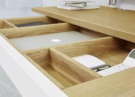bureau bois acier bureau en chêne en plaqué bois en acier contemporain startup
