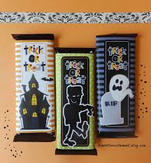 Candy Crafts For Halloween by It U0027s Written On The Wall Wrap Your Halloween Candy With Fun 6