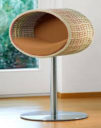 Modern Design Cat Furniture by Rondo Stand Crochet A Unique Cat Tree Contemporary Cat Furniture
