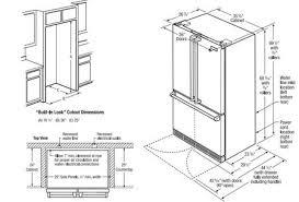 cabinet depth refrigerator dimensions counter depth refrigerator size healthcareoasis