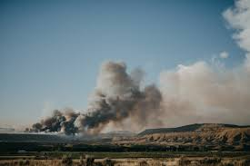 Wildfire Near Fort Collins Colorado by Fast Moving Dead Dog Fire Near Rangely Now Pushing 18 000 Acres
