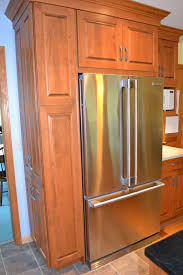refrigerator cabinet side panels awesome kitchen u bathroom remodeling tips you will love of