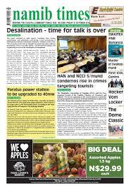 21 october namib times e edition by namib times virtual issuu