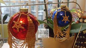 karmic confetti 2014 christmas cards and beaded ornament covers