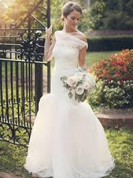 one shoulder wedding dress affordable one shoulder wedding dress asymmetrical bridal gowns