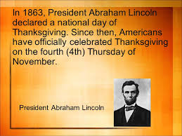 introduction to thanksgiving thanksgiving day is a
