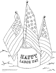 labor day coloring pages getcoloringpages com