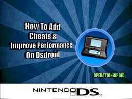 nds4droid apk dsdroid cheats and improve performance