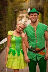 halloween couples costumes peter pan tinker bell b a fashion