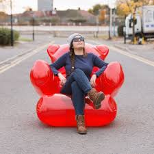 Whos That Lounging In My Chair Thumbs Up Usa Gummy Chair