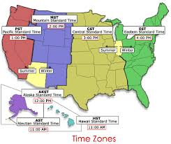 time zone map united states us time zones map arizona united states timezone map 4563565